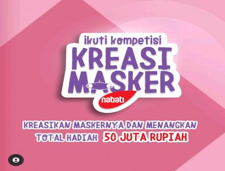 Raja Lomba Kreasi Masker Vita Krim Berhadiah Total 50 JUTA Rupiah