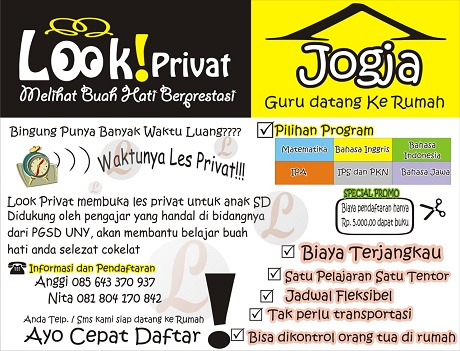 Look privat - ejogja