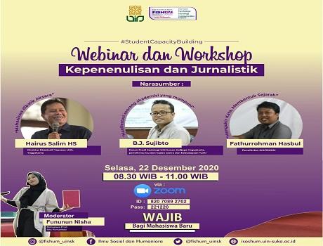 Webinar dan Workshop Kepenulisan