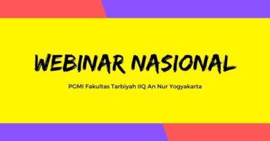 webinar PGMI Tarbiyah IIQ An Nur Yogyakarta - ejogja