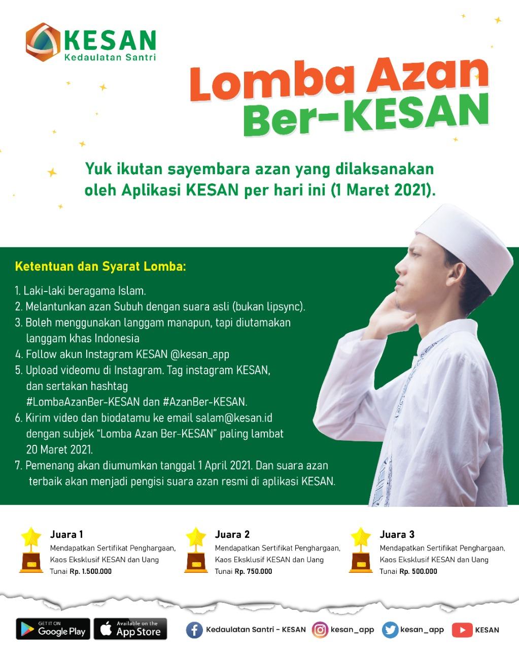 Lomba Azan - ejogja