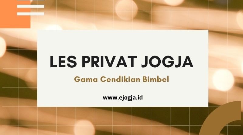 les privat jogja - ejogja