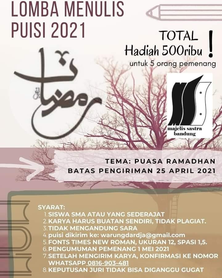 Lomba Menulis Puisi Ramadhan - ejogja