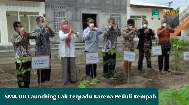 SMA UII Launching Laboratorium Terpadu Karena Peduli Rempah