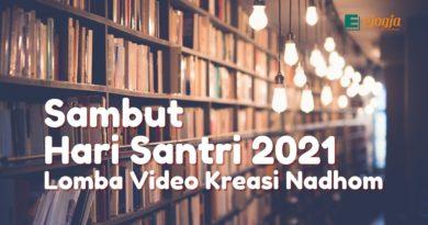 Sambut Hari Santri 2021 Lomba Video Kreasi Nadhom
