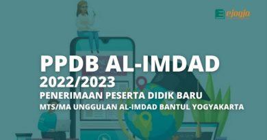 ppdb mts ma alimdad 2022-2023
